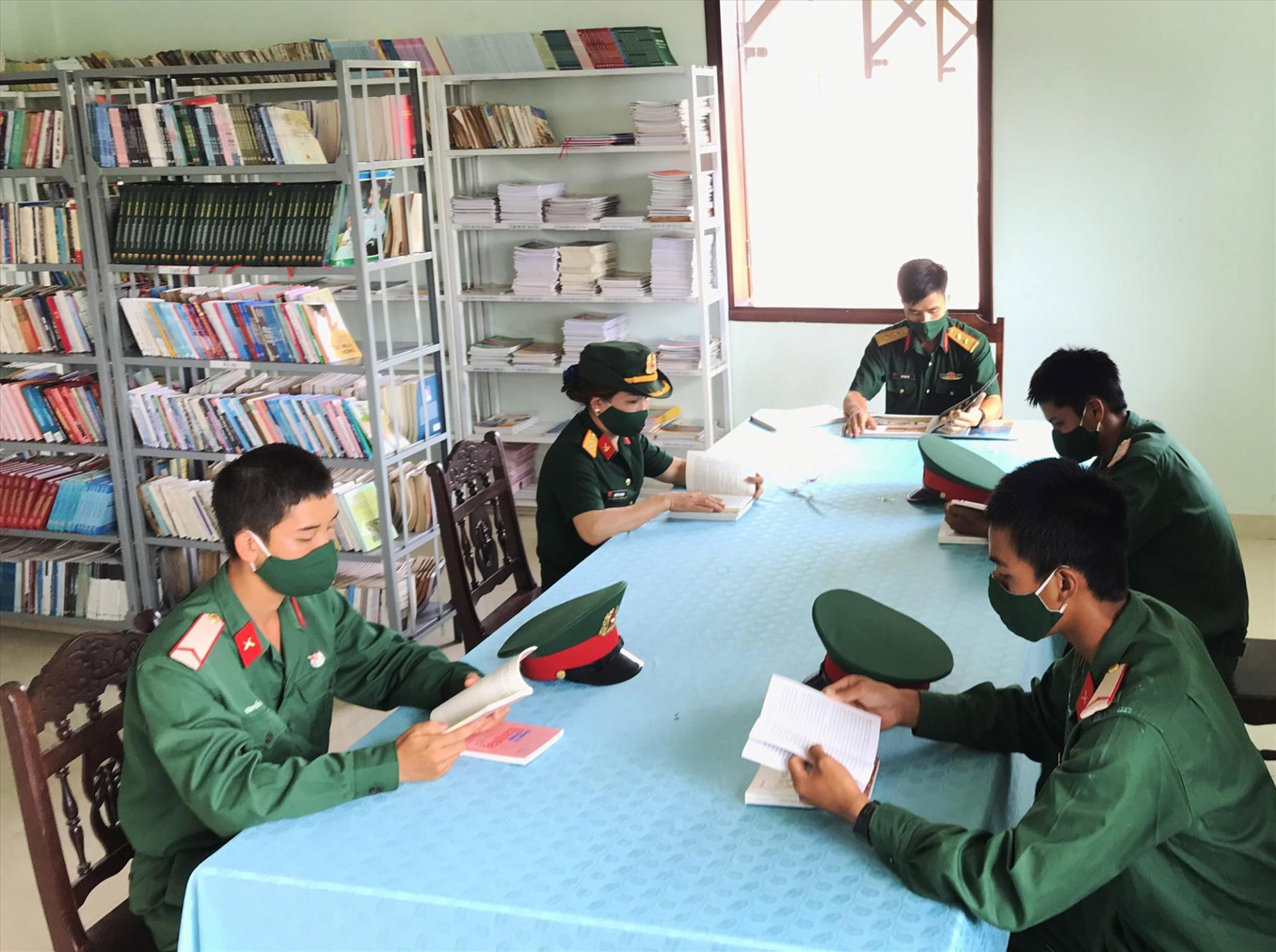 Lan tỏa văn hóa đọc tại Sư đoàn 315