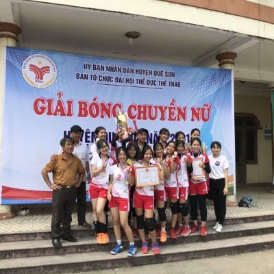 Giải bóng chuyền Nam, Nữ toàn huyện Quế Sơn năm 2021