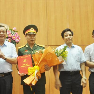 Bầu bổ sung Thượng tá Lê Trung Thành vào Ban Thường vụ Tỉnh ủy nhiệm kỳ 2015 - 2020