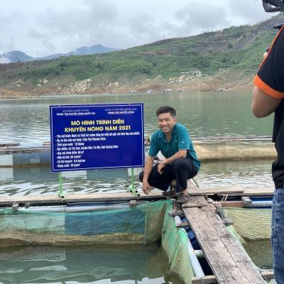Nuôi cá lồng bè - hướng đi mới cho người nông dân huyện Bắc Trà My